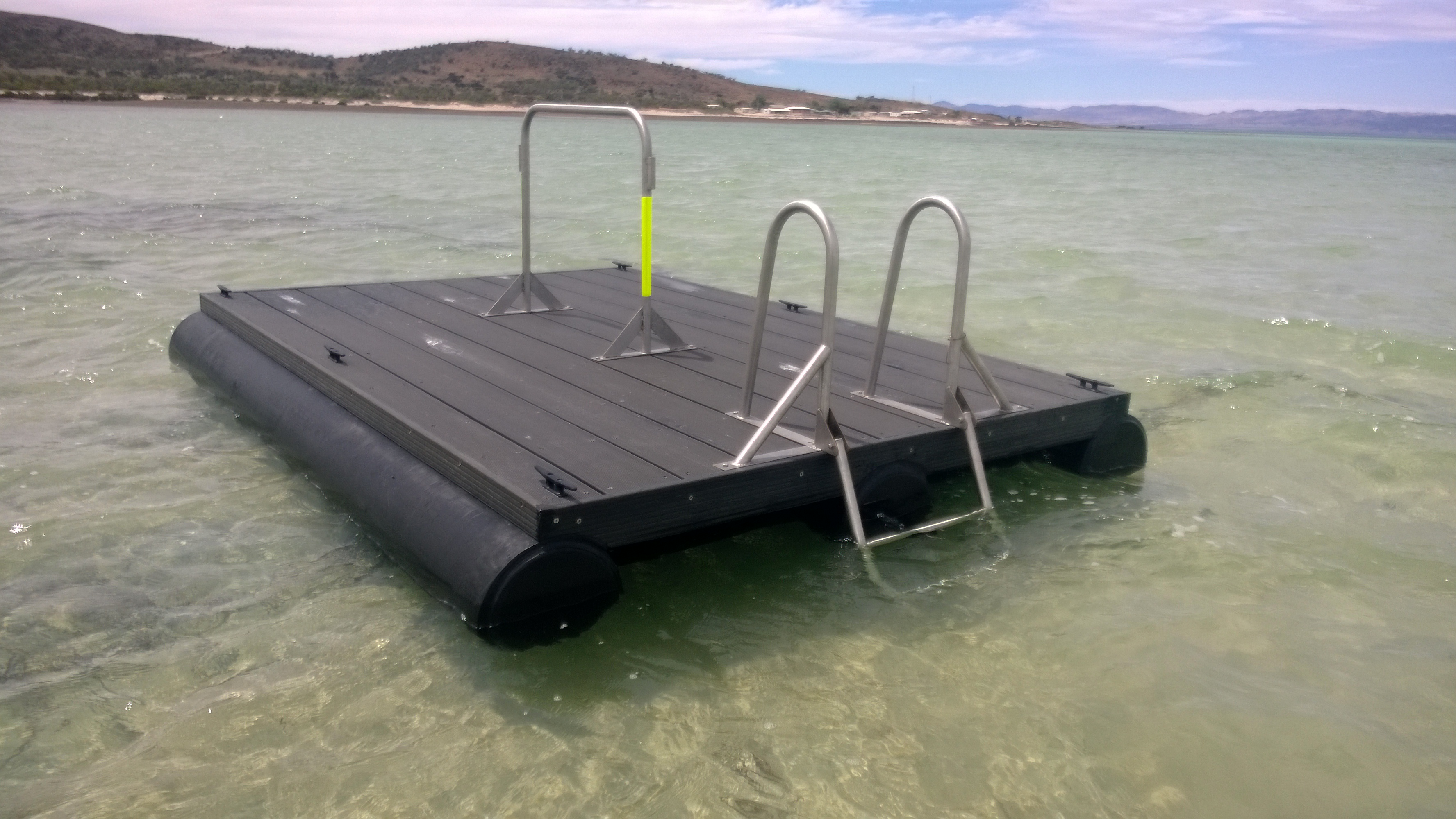 Design and Fabrication of Floating Pontoon - Dalkeith Plastics